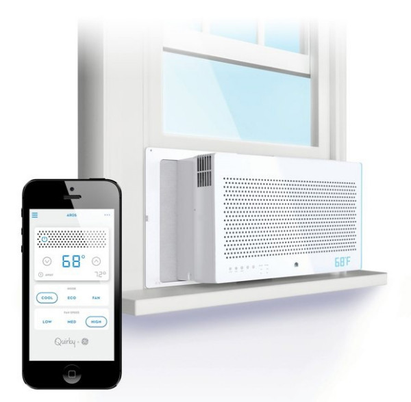 aros air conditioner e1395347582594 Aros Smart Window Air Conditioner   because saving money is way cooler