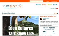 Tubestart – crowdfunding for video