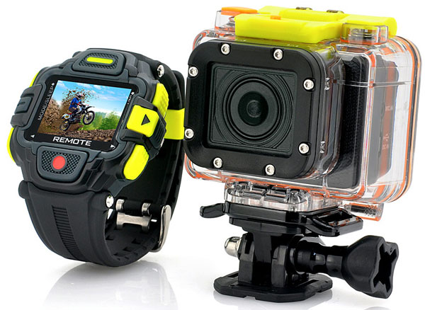 eyeshothdactioncamerawithremovecontrolviewer Eyeshot HD Action Cam With Watch Remote Control   cool GoPro clone comes with live preview on your wrist [Review]