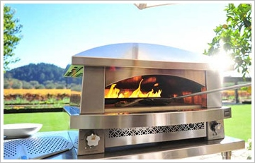 artisanfirepizzaoven2 Artisan Fire Pizza Oven   because outdoor BBQs are so last year