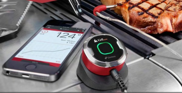 iDevices IGR0001 iGrill Thermometer e1399841392907 IGR0001 iGrill Thermometer Mini   say no way to undercooked meat