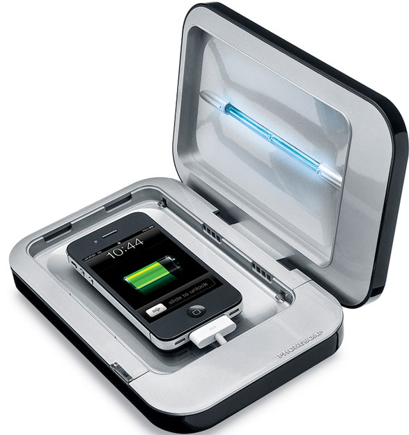 phonesoapsanitizerandcharger Phonesoap   sanitizer and charger for your phone