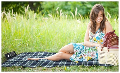 speakerpicnicblanket2 Speaker Picnic Blanket   ahh the sweet sweet sounds of the countryside