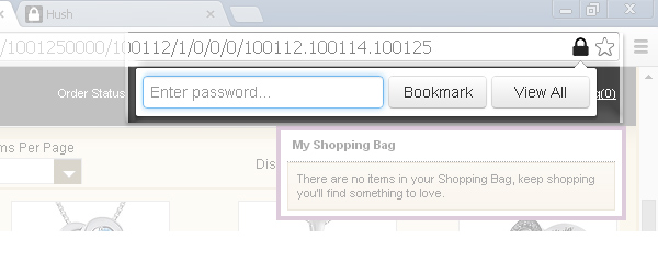 Hush – password-protect your bookmarks when browsing Incognito in Chrome