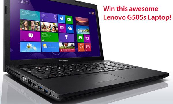 lenovog505slaptop3 Red Ferret Summer Giveaway   Win a Fabulous Lenovo G505s Laptop [Giveaway]