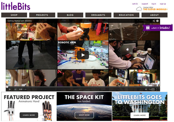 littlebits2 littleBits   open source maker kit promises a world of delight for wannabe nerds of any age