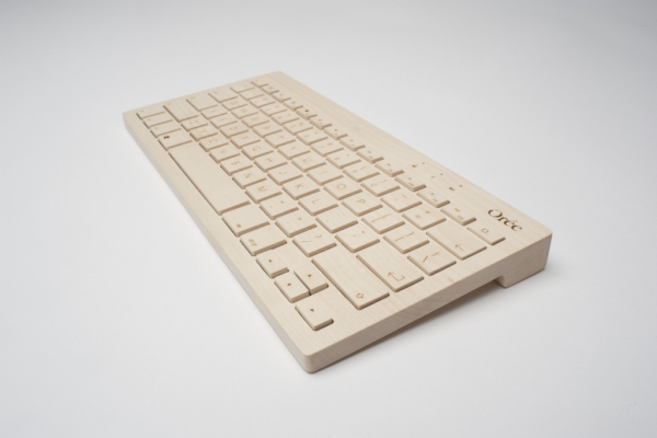 oree board 2 Orée Board 2   all wood designer keyboard says a lot about who you really are