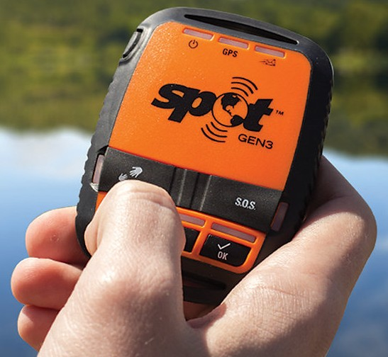 spotgen3 SPOT Gen 3   GPS tracker helps you stay safe out there