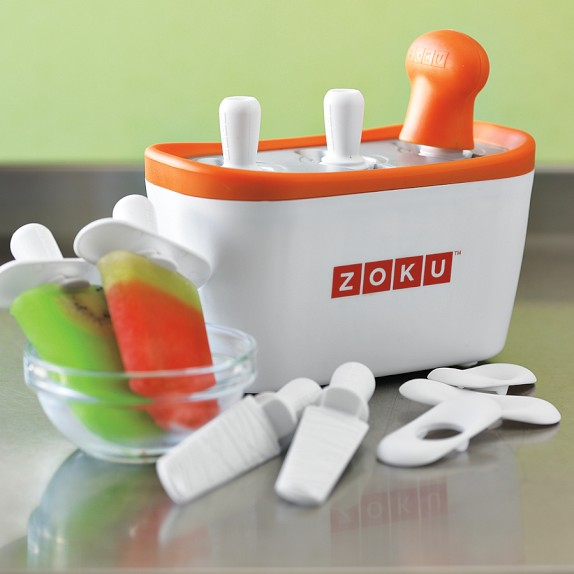 Zuko Quick Pop Maker Zoku Quick Pop Maker – takes the waiting time out of homemade frozen treats