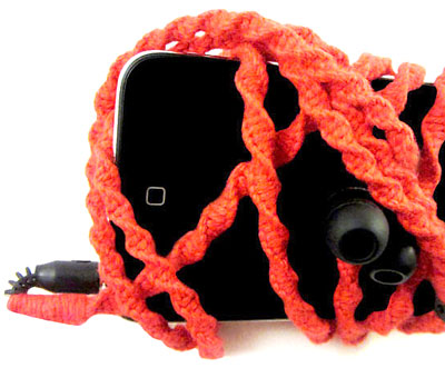 earphones2 We're Solid Wrapped Earbuds   hand wrapped custom earphones keep those cords tangle free and fun