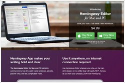 Hemingway Desktop Editor – writers rejoice, the new style editor for PC and Mac has just arrived