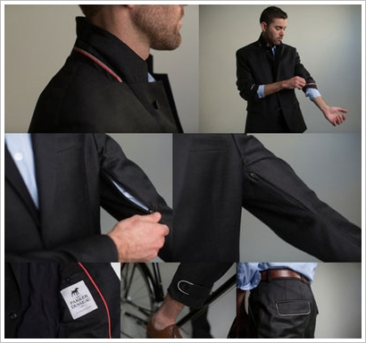 commutersuit2 Commuter Suit   the perfect commuter gear for the upwardly mobile cyclist