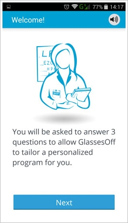 screenshot 2014 09 01 14 17 18 Glasses Off   slick smartphone app helps reduce your need for reading glasses [Freeware]