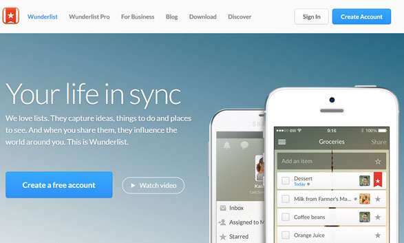 Wunderlist – power through your To-Do lists with this cool sharing system [Freeware]