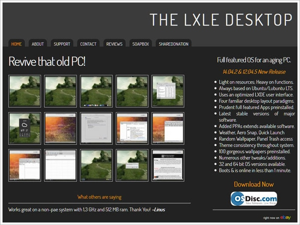 LXLE Linux – revive that old PC! [Freeware]