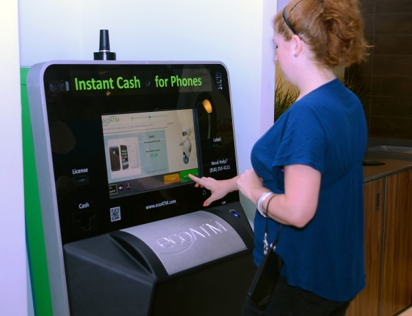 ecoATM – turn in your old mobile devices for cash
