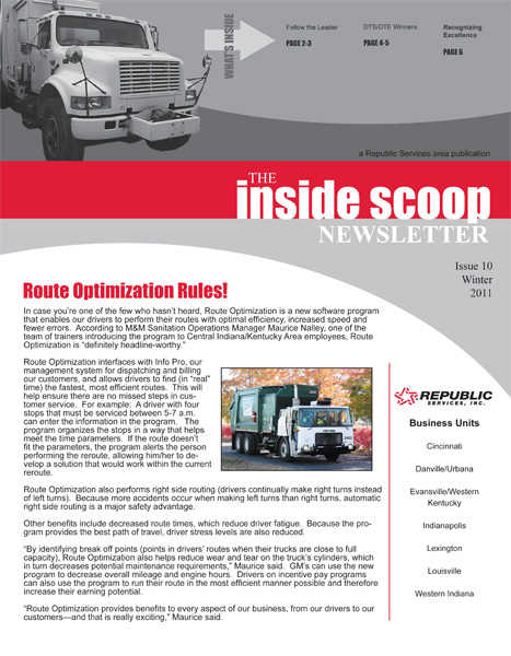internal newsletter - Yelommyphonecompany - company newsletters examples