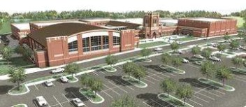 Milton GA new high school near Cogburn Road