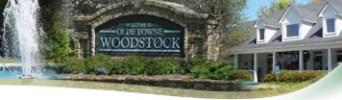 downtown Woodstock GA photo