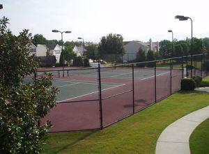 Milton GA neighborhood Fairmont tennis