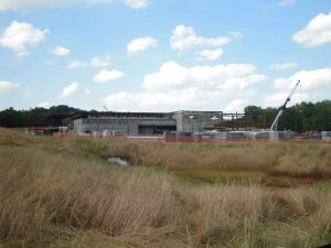 Milton GA new high school at Bethany Bend