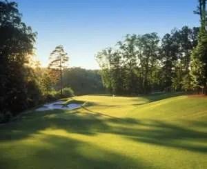 Milton GA White Columns golf