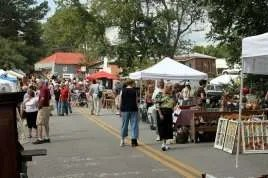 Milton GA festival scene at Crossroads at Crabapple