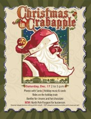 Christmas in Crabapple comes to Milton GA in 2011
