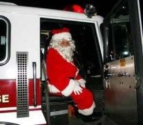 santa comes to woodstock on christmas eve
