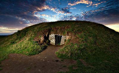 Celtic tomb mound
