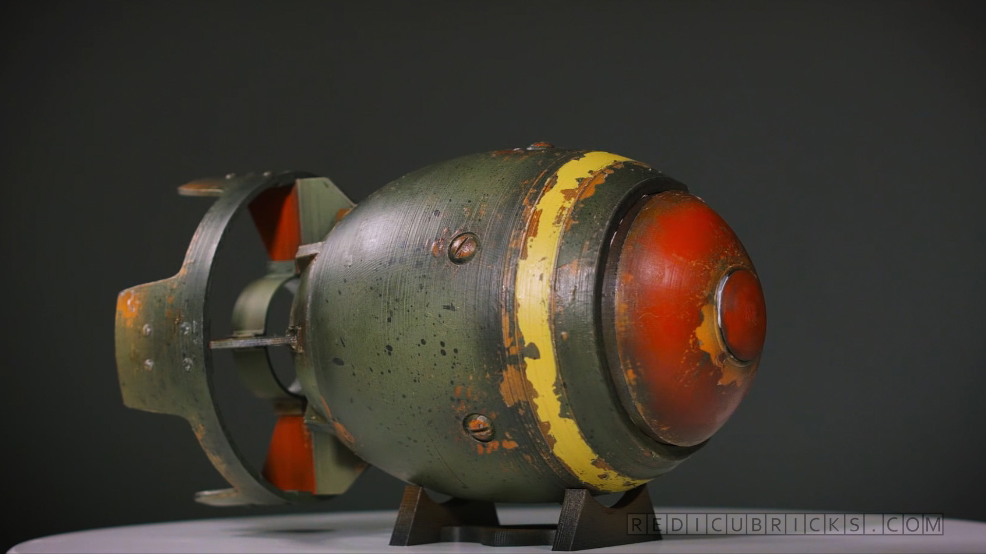 Fall Painting Wallpapers 3d Printed Fallout 4 Mini Nuke Cross Section