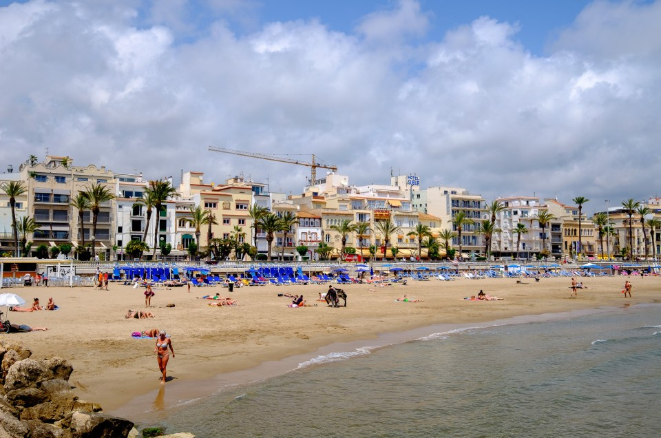 Day 2 – Arriving in Sitges