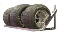 Pit Products 6' 6ft Aluminum Tire Wheel Rack Race Car ...