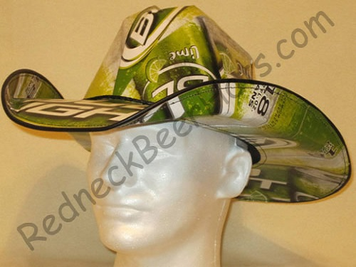 Bud Lime Beer Box Cowboy Hats Cases Carton Box Hat