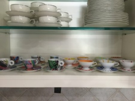 illy and Rosenthal espresso cups