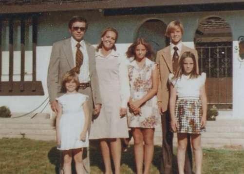 Merrell family in 70's
