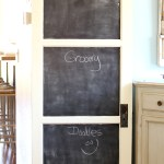 Salvaged door chalk 1