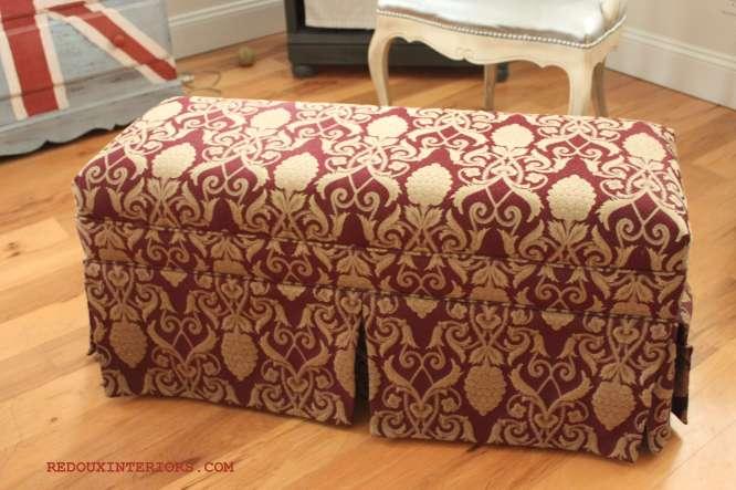 Deb Ottoman Bench