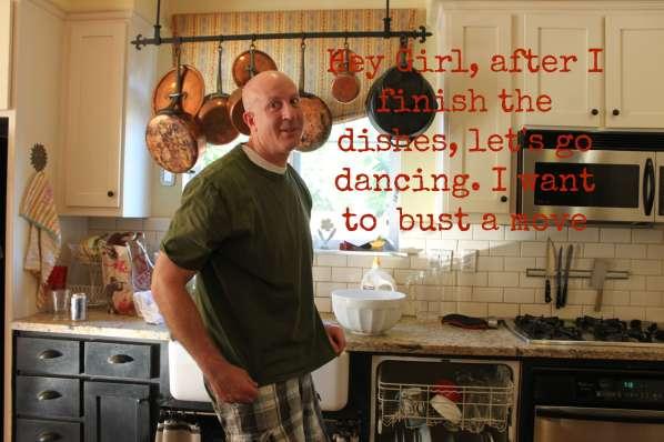 Mark dancing
