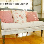Bench from junk redouxinteriors