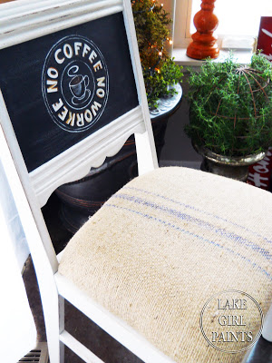 Coffee Bag for Chair Seat Cover
