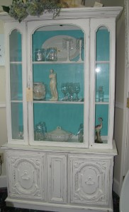 Simply White and Santa Fe Turquoise