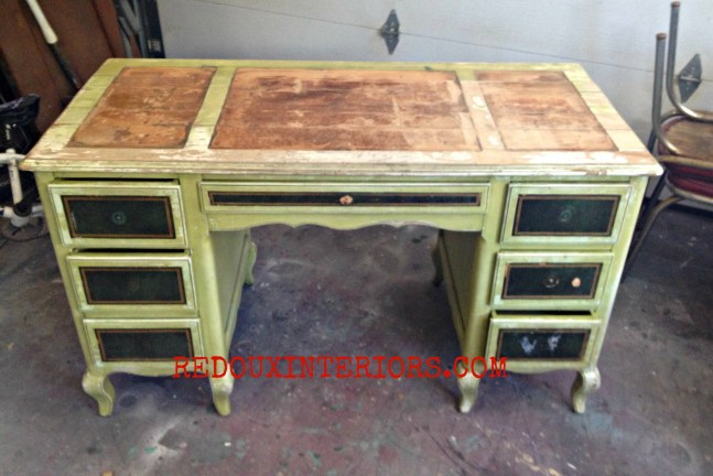 Dumped French Desk