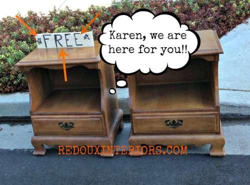 Free nightstands redouxinteriors