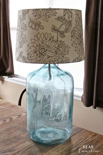 antique-water-bottle-turned-lamp Dear Emmeline