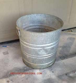 Bucket before