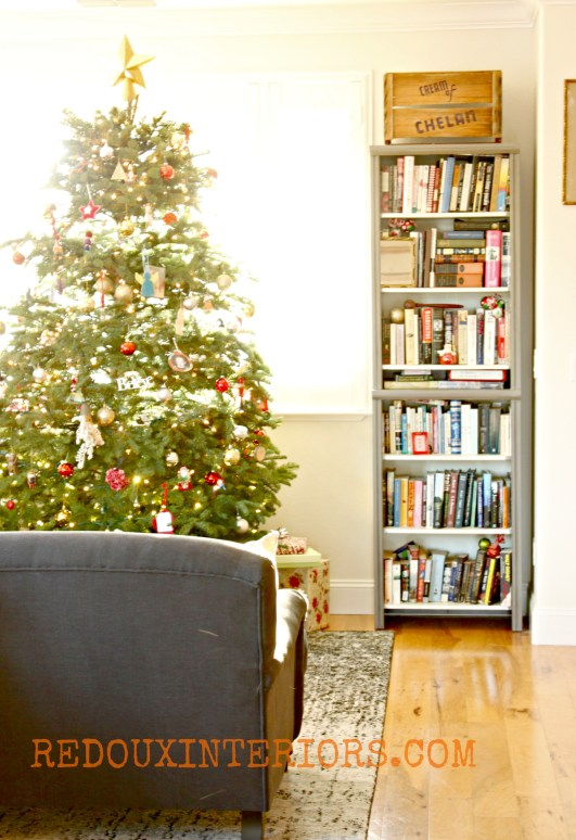 Christmas living room Redouxinteriors