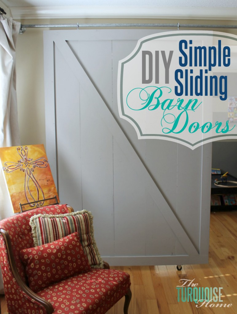 simple-sliding-barn-doors-straight-with-overlay- The Turquoise Home