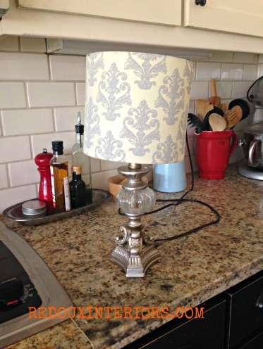 Home Depot lamp