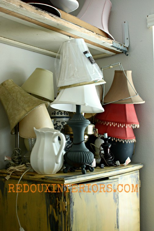 Lamps in Office before